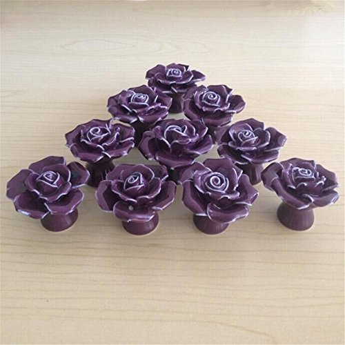 purple cabinet knobs - 7