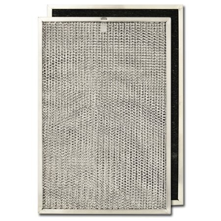 Hotpoint Electric White Range (Aluminum/Carbon Range Hood Filter -11 3/8