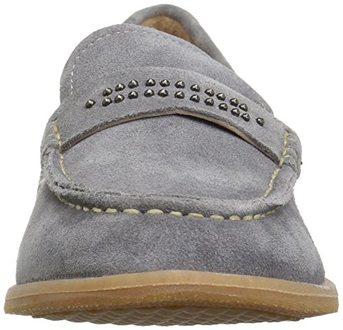 Hush Puppies Womens Aubree Chardon Slip-on Loafer Smoke