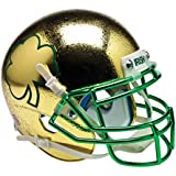 Schutt NCAA Notre Dame Fighting Irish Mini Authentic XP Football Helmet