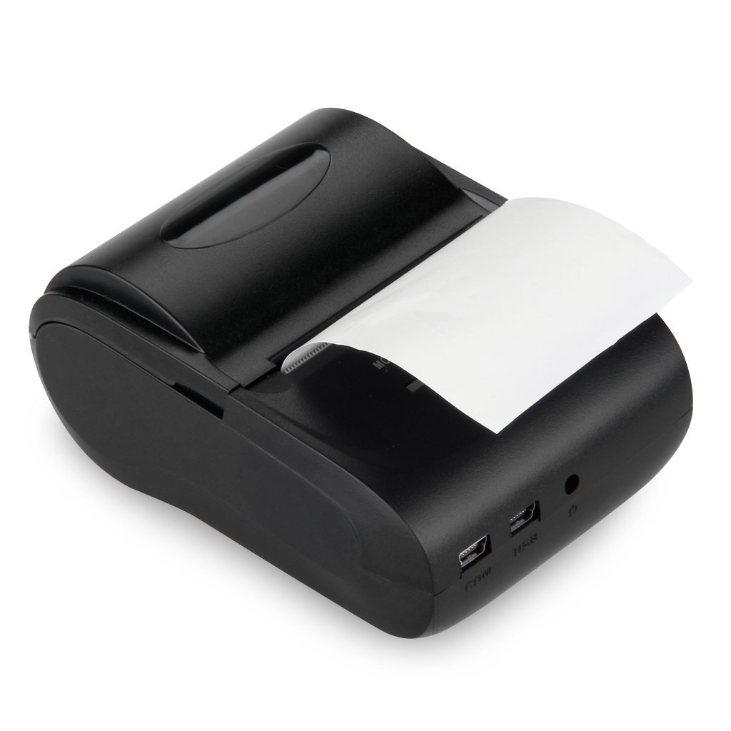 Bluetooth stampante termica per scontrini Wireless stampanti POS Stampante Termica Ricevuta stampante 58 mm Thermal Dot Receipt Printer Unbekannt