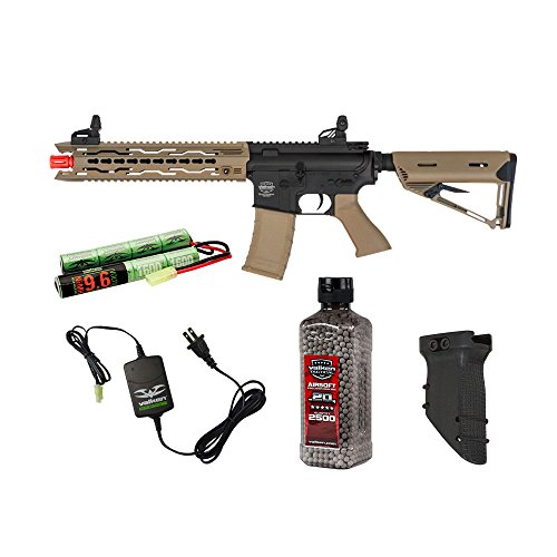 Valken Tactical Battle Machine Trg-L Covert Ops Airsoft Rifle Package by Valken Tactical