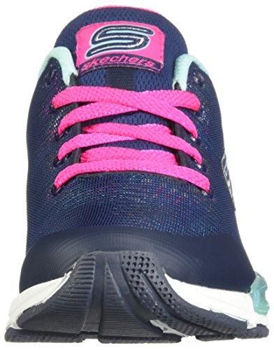 Meisjes Optic Jumptech Skechers Haze Blauw Sneakers wHqRZXCZ