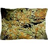 """CafePress - Cannabis Pillow Case - Standard Size Pillow Case, 20""""x30"""" Pillow Cover, Unique Pillow Slip"""