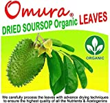 Omura Organic Soursop Tea Leaves (50+ Leaves)