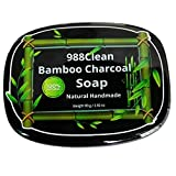 988Clean Activated Bamboo Charcoal Soap. Natural Face - Best Reviews Guide