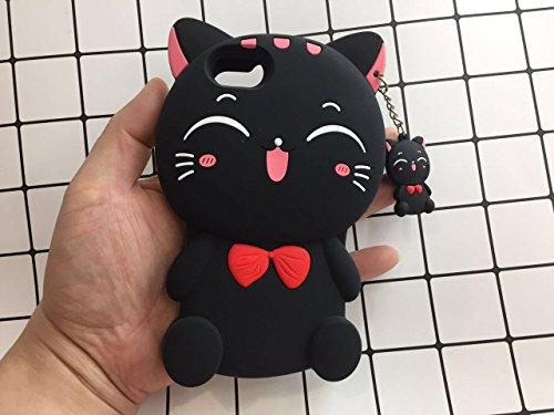 Hello Kitty iPhone 6 (4.7 Zoll) funda Cover Carcasa y fundas Carcasas y fundas color negro
