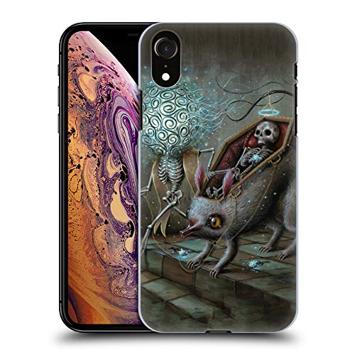 Official Jason Limon No Mans Land Skull Hard Back Case for iPhone XR