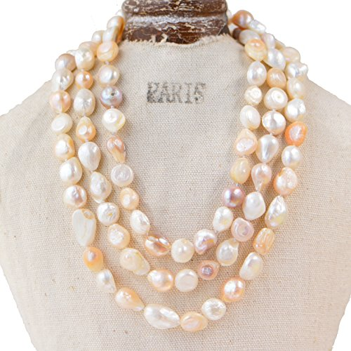 25 Inch Cultured Pearl Necklace - 9