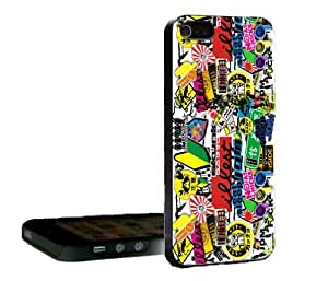 Illest Sticker Bomb iphone 4s 2in1 (Tough Dual Layer) Back Case Cover