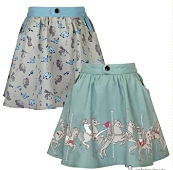 Los niños reversible del carrusel falda por Belle & Boo/3 - 4 años ...