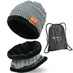 audifonos bluetooth beanie for men mens winter hat and scarf set women hats slouchy wireless headphones with under armour running beanies music speaker clothes tenergy headphone phone gloves qshell teens cap unisex knit enjoybot men's guys go...