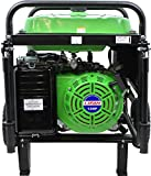 5000 Watt Portable Generator - Lifan ES5700E Energy Storm Gas Powered Portable Generator with Electric and Recoil Start, 5700W