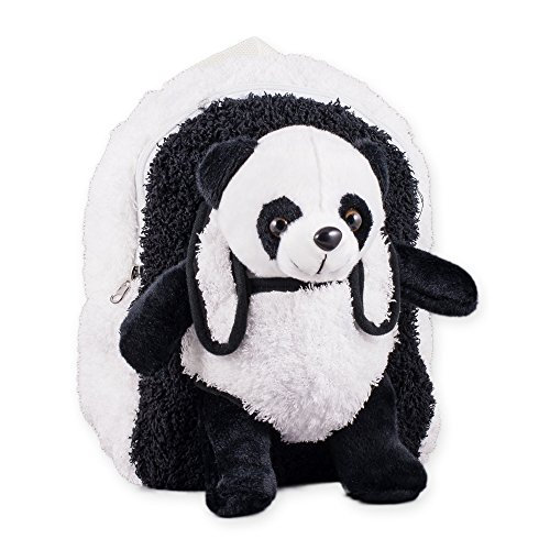 Panda Bear Plush Kids Play Backpack with Removeable Stuffed Panda Bear