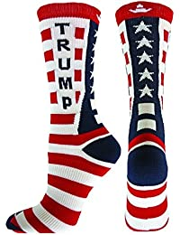 Red Lion Donald Trump Republican Crew Socks