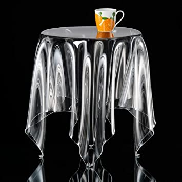 Illusion Side Table   Clear   Essey