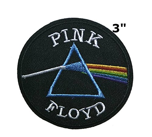 Pink Floyd Music Band Embroidered Sew or Iron-on Patch Badge DIY Application Appliques -