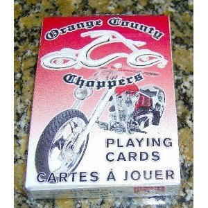 New Sealed Deck Orange County Choppers Playing Cards Bicycle Brand Occ
