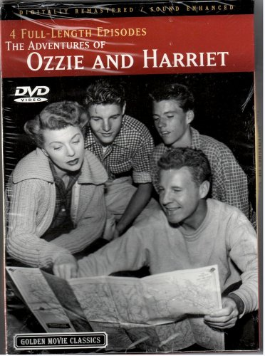 4 Full-Length Episodes, The Adventures of Ozzie and Harriet (The Adventures Of Ozzie And Harriet Full Episodes)