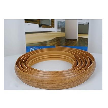 Flexible Flooring Profile 3M and 6M Transition Strip Floor Trim Threshold  TMW Profiles (3M, Light Oak)