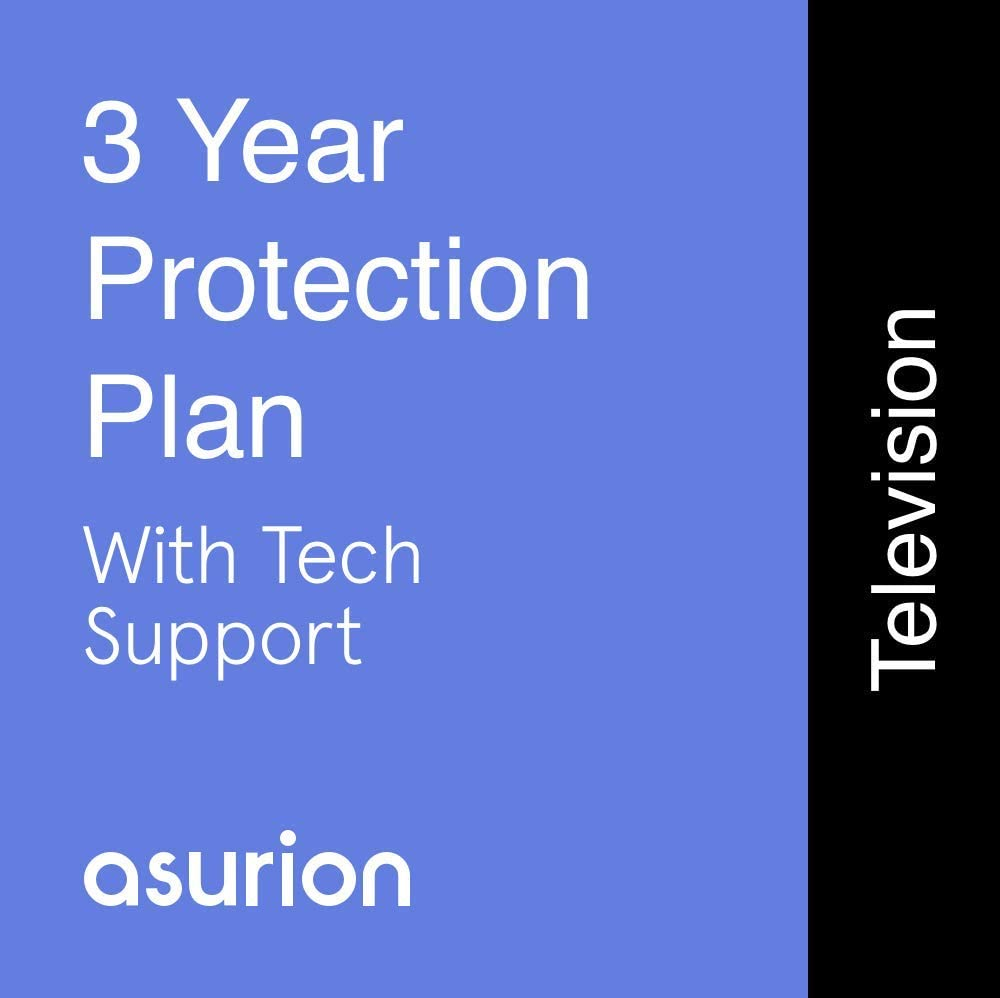 ASURION 3 Year Television Protection Plan with Tech Support $600-699.99