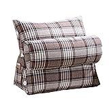 Lumbar Pillow Cailin, Rear Window Bay Window Sun Bed Head Imitation Linen Adjustable Triangle Pad Soft Neck Cushion Cushion Washable Wash 452045 cm