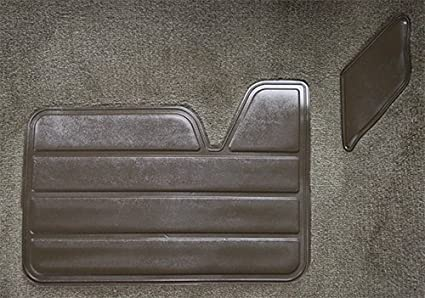 ACC Carpet Kit Compatible with 1997 to 1998 Chevrolet Extended Cab Pickup Truck with Rear Floor Vents 8019-Mist Grey Plush Cut Pile