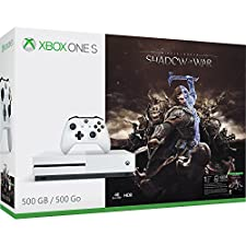 Xbox One S 500GB Shadow of War Bundle - Bundle Edition