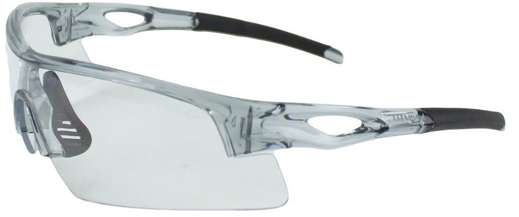 Titus TOP Slim-Line Safety Glasses and Earmuff Combos (Black - Electronic, G20 Clear w/All-Sport Frame) by Titus (Image #2)