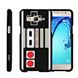 MINITURTLE Case Compatible w/ [Samsung Galaxy On5 Slim Case, Samsung On5 Case, O5 Case][Snap Shell] Hard Plastic Slim Fitted Snap on case w/ Unique Designs Game Controller