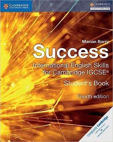 success international english skills for cambridge igcse student s