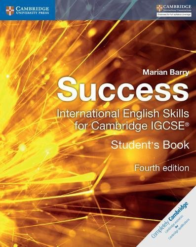 Success International English Skills for Cambridge IGCSE Student's Book (Cambridge International IGCSE)