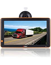 GPS Navigation for Cars, 9-inch Big Screen Truck GPS Navigation System for Trucks Portable Car GPS Navigation System, Built-in 8GB-256MB Voice Turn Alarm Satellite Navigator.Lifetime Free Map Updates