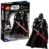 Rule with a plastic fist with this buildable and highly posable Darth Vader figure. This impressive figure features detailed armor and chest decoration, textile tunic and cape, and a detachable Lightsaber. Imperial leaders will love swinging his arm ...