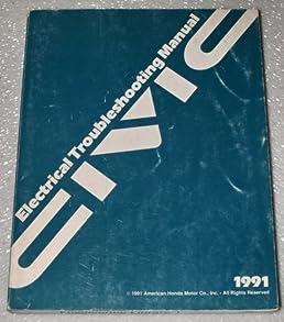 1991 honda civic electrical troubleshooting manual etm honda rh amazon com Honda Civic Sport 2004 honda civic electrical troubleshooting manual