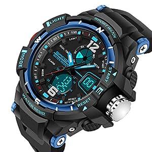 Kids Watches Outdoor Sports Children Watch Stopwatch Quartz Watch Boy Girls LED Digital Alarm Wristwatch