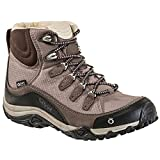 Oboz Women's Juniper Mid Waterproof Hiking Boots Mocha Brown 9