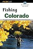 Fishing Colorado, Ronald E. Baird, 0762710985