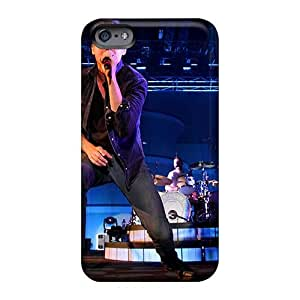 Protector Hard Phone Cover For Iphone 6 With Customized Lifelike Red Hot Chili Peppers Image ColtonMorrill