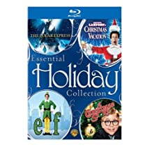 Essential Holiday Collection (The Polar Express / National Lampoon's Christmas Vacation / Elf / A Christmas Story) [Blu-ray] by Warner Home Video