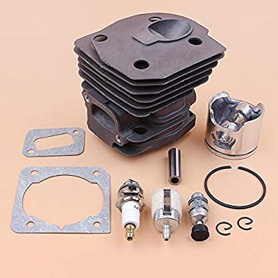 44mm Plate Cylinder Piston Gasket Decompression Valve for 350 351 353 346 346xp Chainsaw Engine Motor Parts