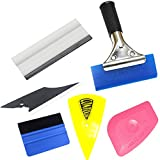 blue--net Vehicle Window Tint Tools Kit Car Wrap Window Tint Tool Kit Car Vinyl Wrap Tool Window Tint Kit for Auto Film Tinting Scraper Application Installation and Vehicle Decoration DIY Decals
