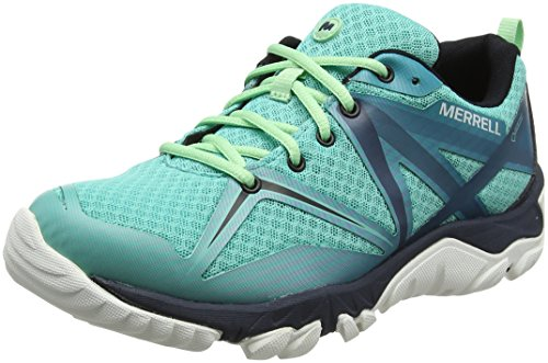 Merrell WoMen Mqm Edge GTX Low Rise Hiking Boots Turquoise (Turquoise)
