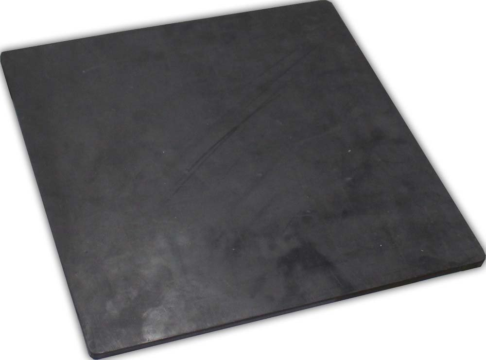 ToolUSA Flat Rubber Block, 12'' X 12'' X 1/4'' - For Workbench Shock Protection: TJ-31407