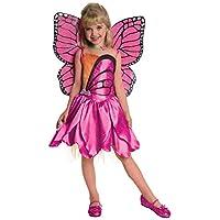 Barbie Fairytopia Mariposa y su Butterfly Fairy Friends Deluxe, disfraz de mariposa, pequeño