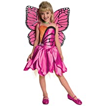 Rubies Costume Co Barbie Fairytopia Mariposa and Her Butterfly Fairy Friends Deluxe Mariposa Costume, Medium