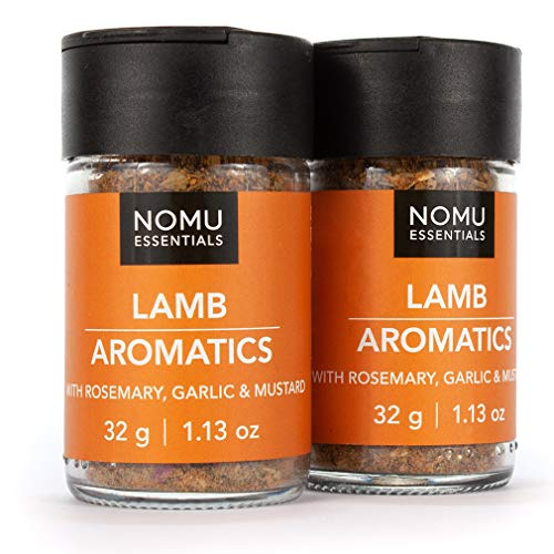 NOMU Essentials Lamb Seasoning Spice (2.26 oz | 2-pack) | MSG & Gluten Free, Non-GMO & Non-Irradiated