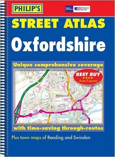 Book Philip's Street Atlas Oxfordshire (2005-11-02)