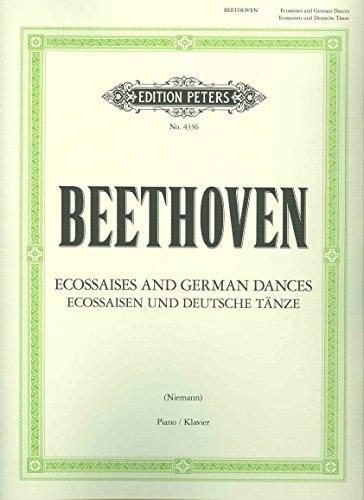 6 Ecossaises WoO 83; 12 German Dances WoO 8