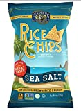 Lundberg, Rice Chips, Sea Salt, 6 oz (170 g)(packs of 3)